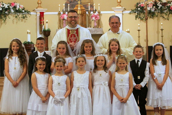 St. Peter/St Monica First Communion 2015