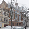 our church in the snow on Pastera Street - Evangelical Reformed Presbyterian Church of Odessa