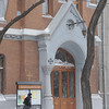 our church in the snow on Pastera Street - Evangelical Reformed Presbyterian Church of Odessa -