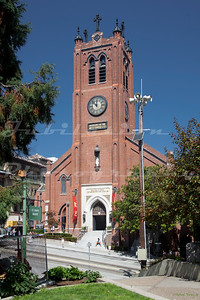 Old Saint Mary's Cathedral, San Francisco, CA.  Built in 1854 and once the tallest building in the city.