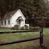 Pioneer Wedding Chapel in Oregon City, OR, originally built as a German Methodist Church in 1895.