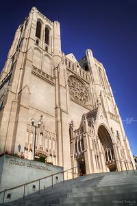 Grace Cathedral, in the Nob Hill neighborhood of San Francisco.  Opened in 1927.