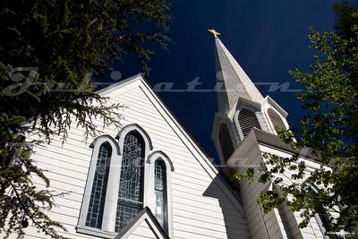 Trinity Church, built in 1873 in Nevada City.