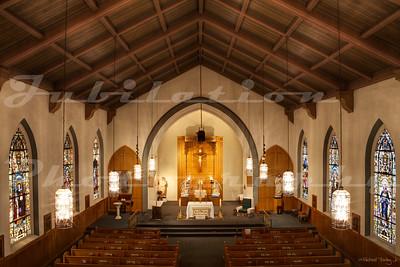 St. Joseph Catholic Church, Mayrsville, CA.  Built in 1855.