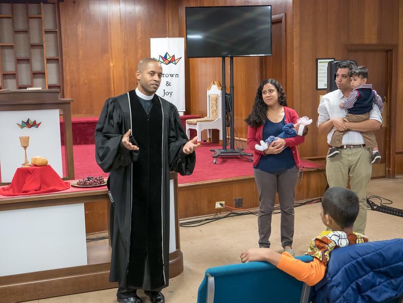 Arias Baptism