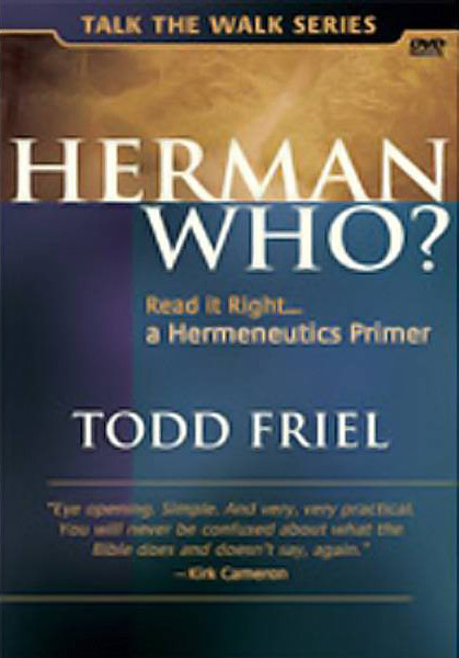 #154 - Herman Who?<br /> <br /> An introduction to Hermeneutics.