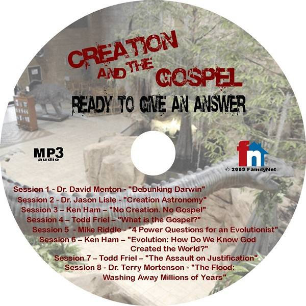 #161 - Creation and The Gospel - MP3<br /> <br /> For those who don't believe the Bible is true.