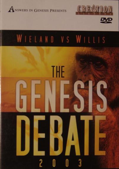 #118<br /> <br /> CMI - The Genesis Debate - 2003 - Dr. Carl Wieland vs Willis