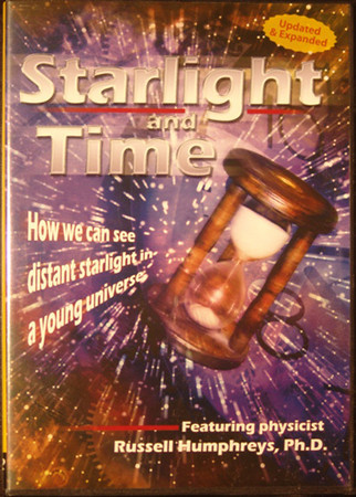 #131<br /> <br /> CMI - Starlight and Time -  How we can see distant starlight in a young universe