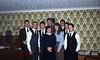 Elders Dave Ovard, Kerry Bush, Hatch, Steve Anderson, Berg, Phil Jolley, Robert Hillstead, unknown sisters