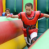 Jevon Rosemond and Darnell Thomas compete at the 10th Annual Fun in the Son, held at Elm Street Community Church on Saturday afternoon.<br /> SENTINEL & ENTERPRISE / Ashley Green