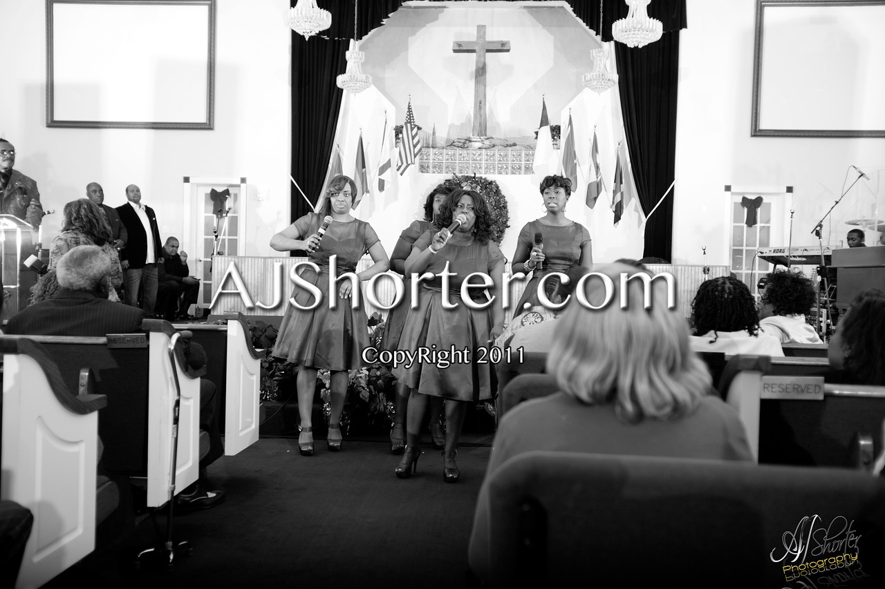 """Friendship Missionary Baptist Church     Dec. 30, 2011<br /> Feat. Majestic Voices of Selma, Alabama    Hit Gospel Group """"Second Chapter""""   The Earth Angels     The Sons of Gospel    South Florida Gospel Singers"""