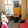 Visit to Actors Guild in ground floor of Presbyterian Church, Odessa, Ukraine -