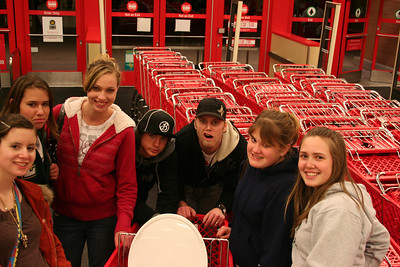 High School Scavenger Hunt Feb 08 in a cart