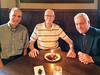Don Simoneaux, Ed Johnson, Father Bruce Bradley
