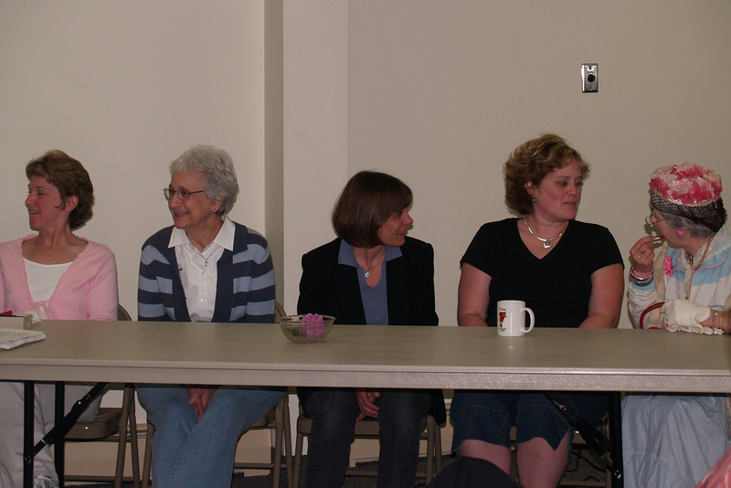 [4x6 crop] Women waiting for questions - Mary, Emma, Eunice, Sarah, Leona