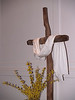 Wooden cross at Easter