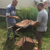 Kiev PCHT Men's picnic at Genesis House with foster kids -