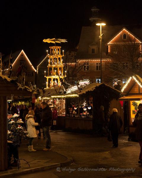 Esslinger Weihnachtsmarktbesuch 2008