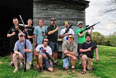 Everyone with a gun!