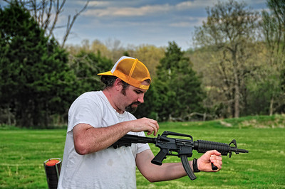 Tim breaks the AR-15.