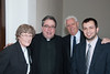 Betty Monaghan, Monsignor Mike Olson (HTS Rector), John Fitzpatrick, Alexander Pacelli (Diocese of Austin)