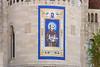 Serra Canonization Banner on Basilica