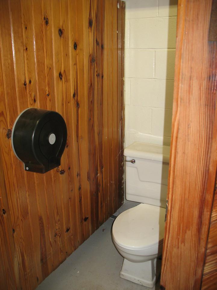 flush toilets :)