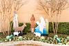 Seton Statue, Nativity Scene