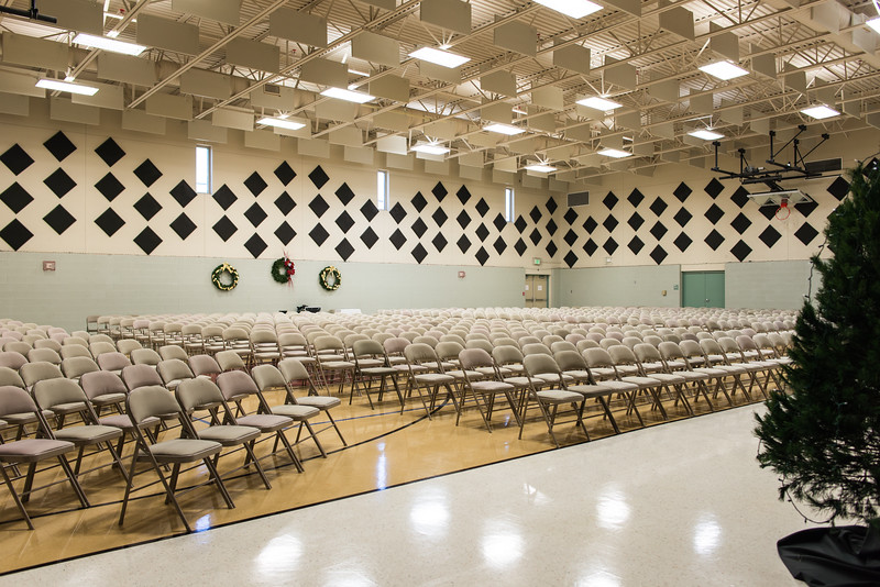 Faith Formation Center Gym Seating