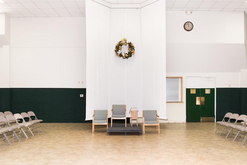 Parish Hall South Wall, Presider's Chair