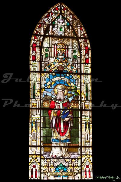 St. Joseph Catholic Church, Marysville, CA.  Built in 1855.