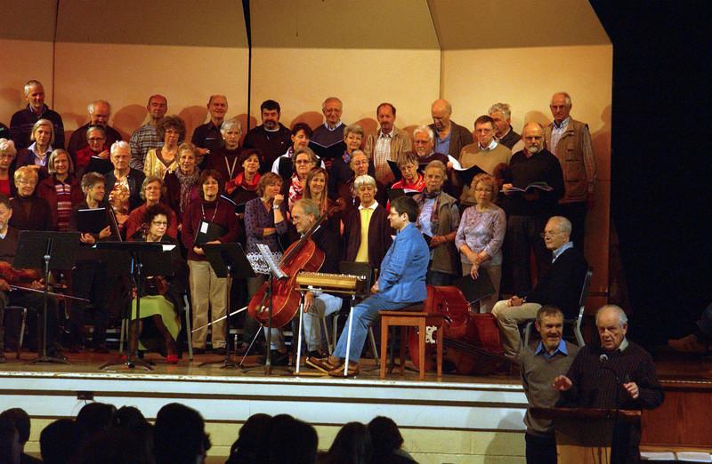 Concert at CD -  John Ruth talking
