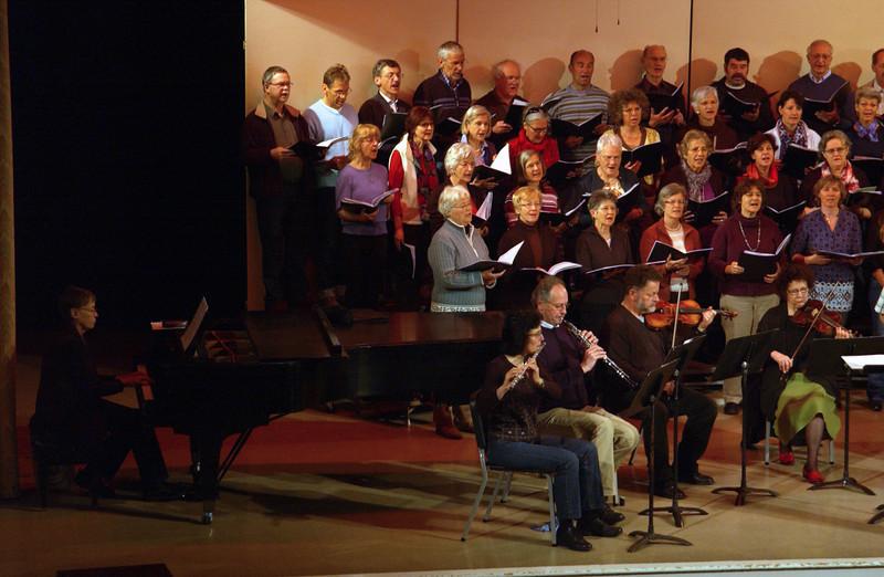 Concert at CD -  Bäretswil Choir performance