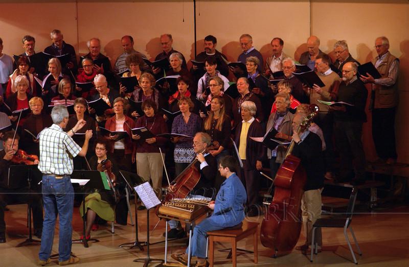 Concert at Christopher Dock H.S. -  Bäretswil Choir performance - 4/27/2010