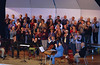 Concert at CD -  clapping for the CD Touring Choir