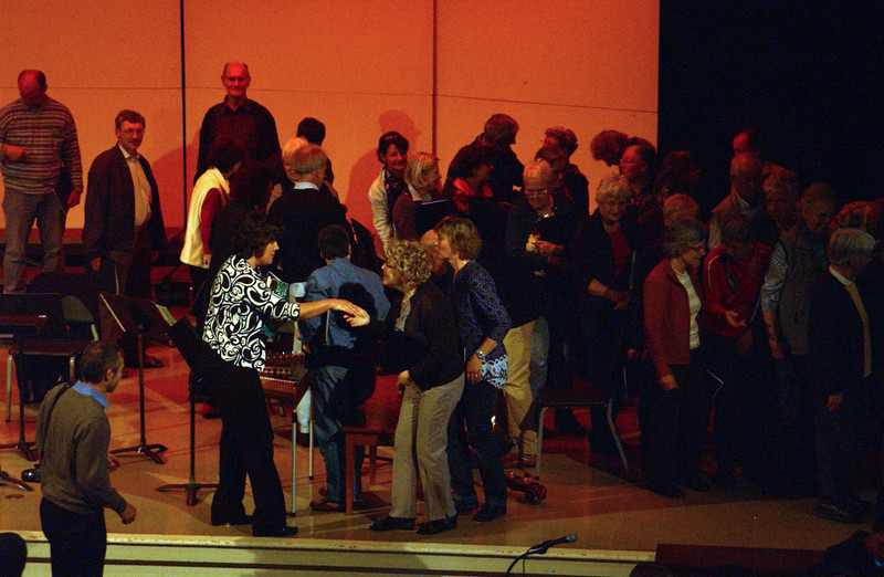 Concert at CD - afterwards