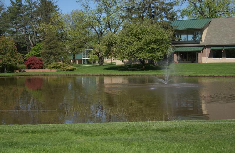 CD campus scene