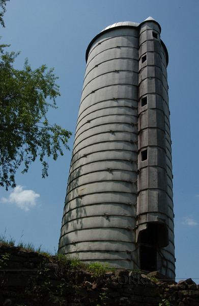 Old silo, Ruth homestead