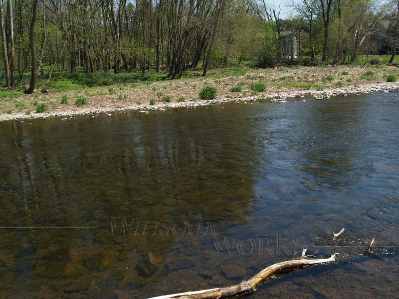 E. Branch of Perkiomen Creek, below the Ruth homestead