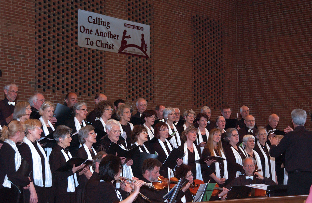 "Concert at Zion -  ending with congregational hymn - ""Take Thou My Hand O Father"", or ""So nimm denn meine Hände"""