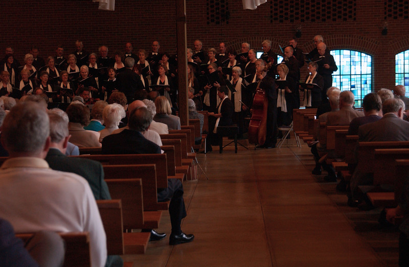 Concert at Zion -  choir performing