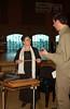 Concert at Zion -   Susanne Pfister with her Appenzeller Hackbrett, speaking with Joel Alderfer