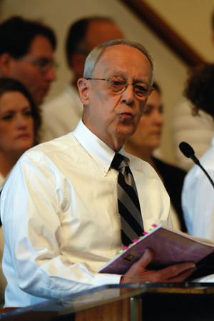 April 17, 2011 Worship Service and Cantata