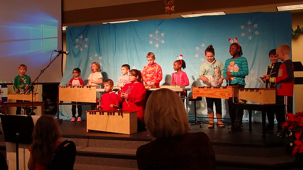 "Orff Instrumental ""Christmas Story"" by Children's Choir for Christmas 2016."