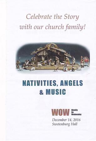 WOW Nativities, Angels, & Music