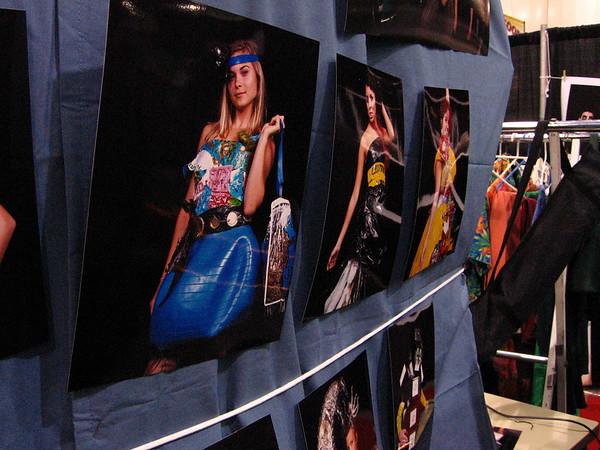 "[photo by Lydia]  ""Trash Fashion"" Show"