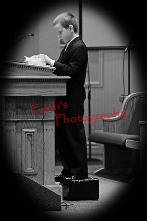 BenPreaching_0535 bw vinette