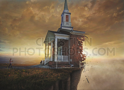 Church on a cliff