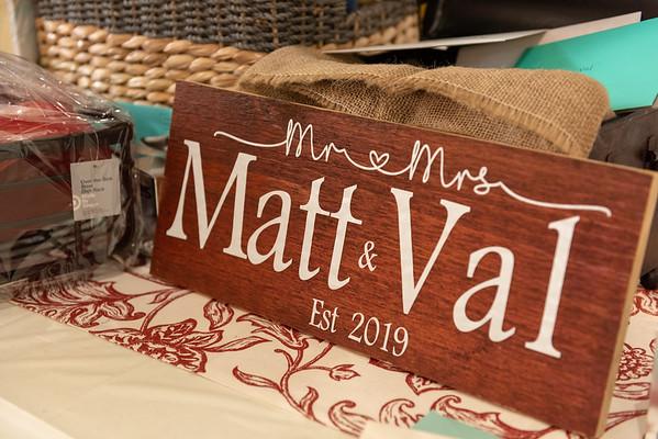 Matt & Val's Shower